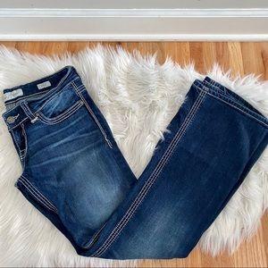 BKE Denim Stella Midrise Bootcut Denim Jeans EUC